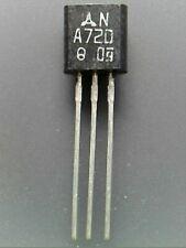 5 pcs 2SA720 -500mA 625mW -60V PNP TO-92 matsushita (rank Q)