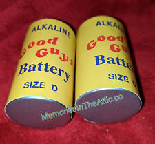 Trick Or Treat Studios Chucky Child's Play 2 Good Guys Doll Batteries D Size