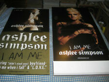Ashlee Simpson-(i am me)-1 Poster Flat-2 Sided-12X24-Nmint-Rare