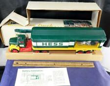 1976 Hess Box Trailer Truck - Both Inserts - Battery Instr w/ Box Possible Error