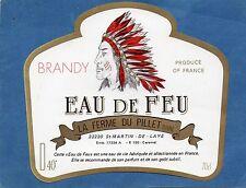 BRANDY EAU DE FEU LA FERME DU PILLET 70 CL 40°  §08/11/17§