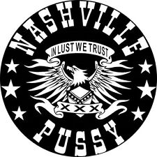 CHAPA/BADGE NASHVILLE PUSSY . pin button corey parks ruyter suys blaine catwrigh