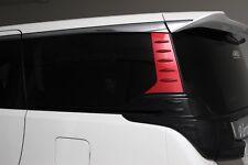 Rear Quarter Cover Garnish Red for Exterior Toyota Alphard Vellfire 3rd Gen