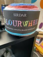 Sirdar Colourwheel DK Yarn Knitting Crochet 150g Yarn Cake Wool