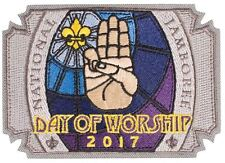 2017 National Jamboree Patch of the Day - Day of Worship