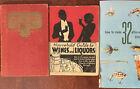 Three+Rare%2C+Vintage+Books+on+Mixology+Cocktails