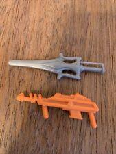He-man plastic sword & gun