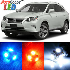 17 x Premium Xenon White LED Lights Interior Package Kit for Lexus RX350 RX450h