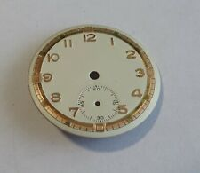 Watchmaker Watchmaking Dial Watch Curved Grey Diameter 1 1/16in Second