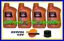 Kit Tagliando TRIUMPH DAYTONA 675 08 09 Filtro Olio REPSOL 10W/40 675R 2008 2009
