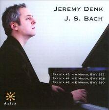 Bach: Partitas Nos. 3, 4, 6 by Jeremy Denk (CD, 2011, Azica) VERY GOOD FREE S&H