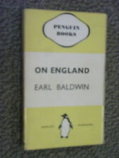 Penguin Book 116 On England by Stanley Baldwin 1937 English Patriotic Rhapsody