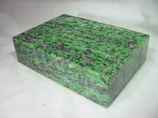 BUTW Incredibly Stunning Ruby in Zoisite Jewelry Box Lapidary 5632B dl