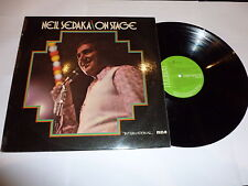 NEIL SEDAKA - On Stage - 1974 UK RCA International label 11-track vinyl LP
