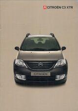 Citroen C3 XTR 2004 UK Market Sales Brochure 1.4 16v 1.4 HDi