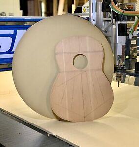 Guitar Building Radius Dish Combo 25' & 15' Foot Luthier Tools & Jigs