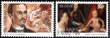 Belgium**MEMLING-LEKEU-MADONNA-PAINTINGS- 2vals-1994-MNH-Schilderijen-Peintures