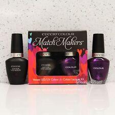 CUCCIO Veneer Match Makers - BROOKLYN NEVER SLEEPS 6035 Gel & Lacquer Duo Kit