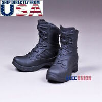 "1/6 Womens Tactical Combat Boots For 12"" PHICEN Hot Toys Female Figure U.S.A."