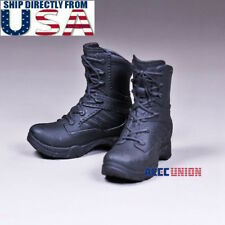 """1/6 Womens Tactical Combat Boots For 12"""" PHICEN Hot Toys Female Figure U.S.A."""