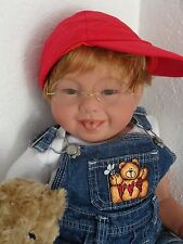 "Reborn 22""Toddler Boy Doll ""Timmy and Teddy"" -Down Syndrome Tribute"