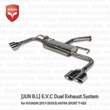 [JUN B.L] E.V.C Dual Exhaust System for HYUNDAI 2017 2018 2019 ELANTRA SPORT