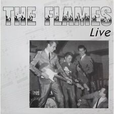 LP The Flames - Live in UK 1997 -  VINYL EDITION - TEDDY BOY TED ROCKABILLY NEW