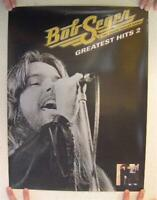 Bob Seger & The Silver Bullet Band Poster Greatest Hits 2  Two Sided