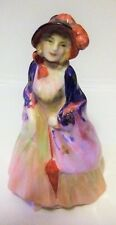 Miniature Royal Doulton Figure Paisley Shawl Miniature Figure M4 Rare Figure