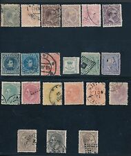 Spain **(21) 1874-1905 EARLY ISSUES**; USED; CV $40+