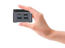 Mini PC 4K Windows 10 Desktop Intel N4100 Computer 8GB RAM +128GB SSD