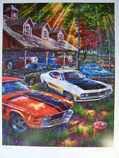 FORD TORINO GT COBRA ART 1969 1970 71 429 SCJ MUSTANG BOSS 302 MERCURY CYCLONE