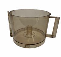 Cuisinart Food Processor DLC-8E Work Bowl 11 Cup Amber Vintage Replacement Part