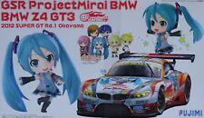 FUJIMI 17001 GSR Project Mirai BMW Z4 GT3 2012 Super GT Rd.1 Okayama in 1:24