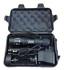 LED Tactical Flashlight Genuine Lumitact G700 l2 Military Grade Torch Aluminum