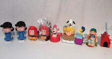 McDonald's Burger King Peanuts Toys Lot Of 9