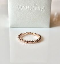 c5564f346 New ListingPandora Rose Gold Shine Forever Love Tiny Hearts Stackable Ring  Band 9