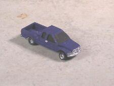 N Scale 1998 Dark Blue Dodge Ram Extended Cab Pickup