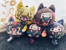 Demon Slayer Kimetsu No Yaiba Kamado Tanjirou Doll Plush Keychain Stuffed N