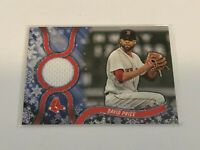 2018 Topps Walmart Holiday Baseball Jersey Relic - David Price - Boston Red Sox