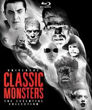 Universal Classic Monsters: The Essential Collection (USA, 8 Blu-rays) BRAND NEW