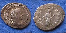 Antoninian TREBONIANUS GALLUS. Milano. Libertas. Sehr schön