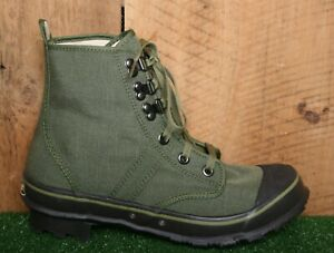 CABELA'S 'Cordura Lug Wade' Green Canvas Hiking Fishing Ankle Boots Men's Sz. 8M