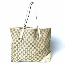 GUCCI canvas GG canvas tote bag 169945 Used 1249-10N51