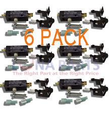 (6 PACK) W10820036 279347 Door Switch Kit PS11723153 AP5985146