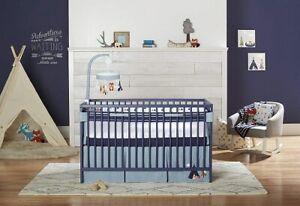 Just Born Adventure 8-Pc Crib Bedding Set Include Crib Liner/Mobile/Blanket++New