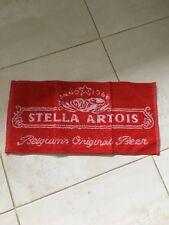 Bar Towels. Bar Mats. Beer Mats. Stella Artois Bar Towel. Brand New