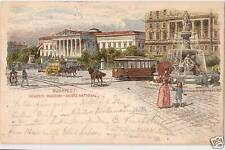Ansichtskarten aus Ungarn mit dem Thema Straßenbahn