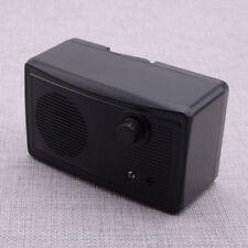 3 Level Outdoor Pet Dog Ultrasonic Stop Bark Control System Device Black