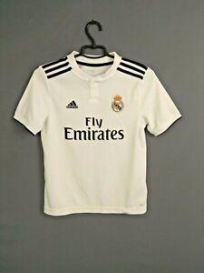 Real Madrid Jersey 2018 2019 Boys Kids 11-12 years Shirt Adidas CG0554 ig93